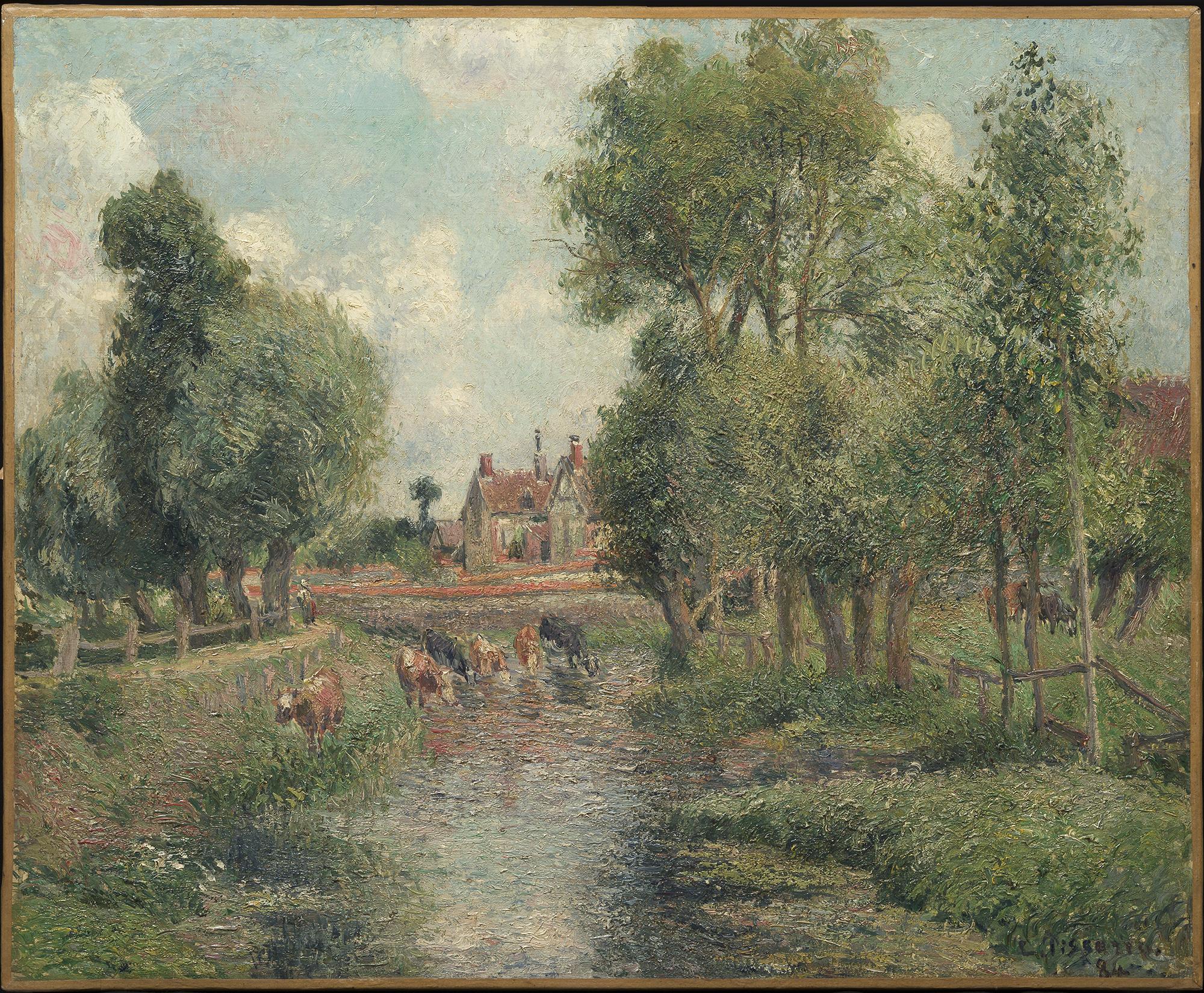Pissarro eragny la nature retrouv e musee du luxembourg for Camille pissarro oeuvre