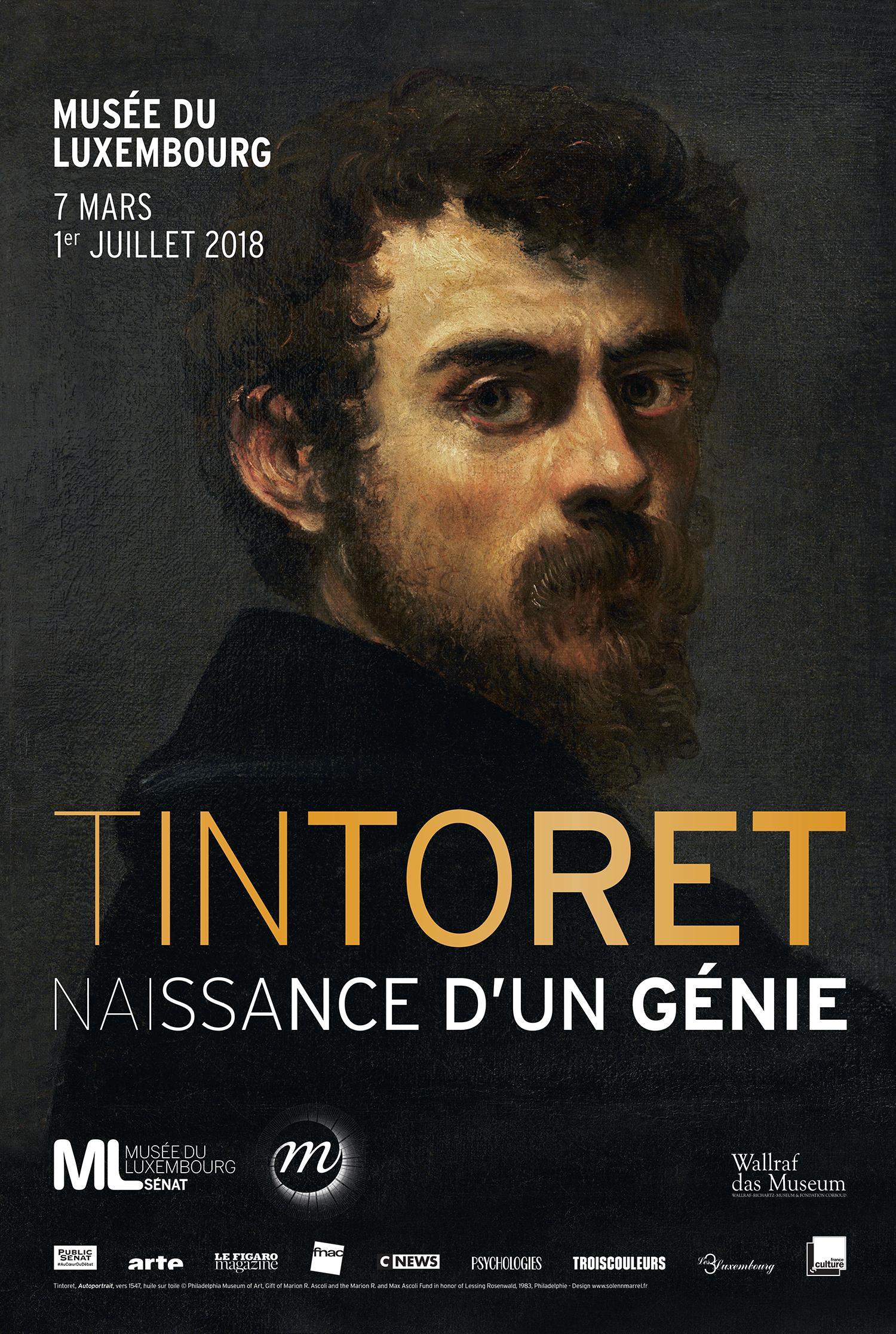 Affiche de l'exposition Tintoret. Naissance d'un génie