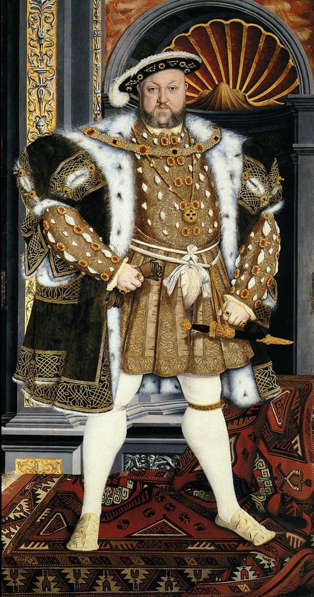 Henri VIII, d'après Hans Holbein le Jeune, 1540-1550, Petworth House, National Trust.